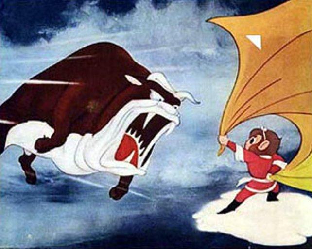 """An diesem Ochsen aus """"Alakazam the Great"""" wollte sich Shigeru Miyamoto in Bezug auf Bowsers Aussehen orientieren."""