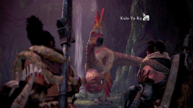 Der Kulu-Ya-Ku wird eines der ersten Monster sein, das ihr fangen müsst.