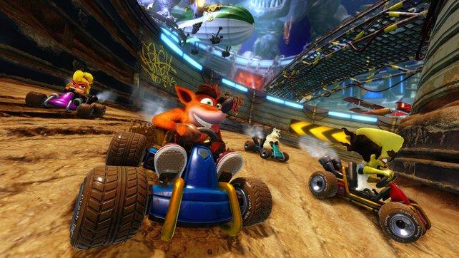 Nostalgie-Sale für PS4-Spieler: Auch das sehr beliebte Crash Team Racing Nitro Fueled ist gerade im Angebot.