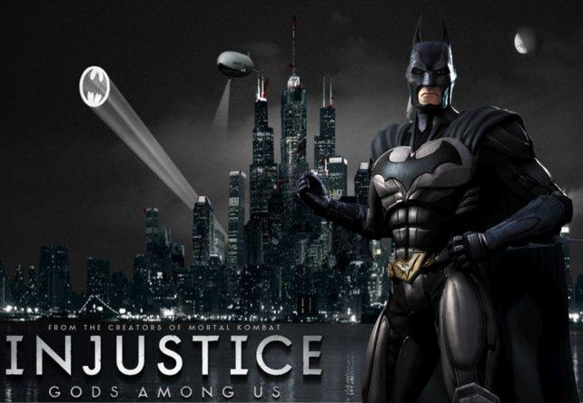 Erwähnenswert: Auch in Prügelspielen wie Injustice - Götter unter uns hat Batman seine Auftritte.