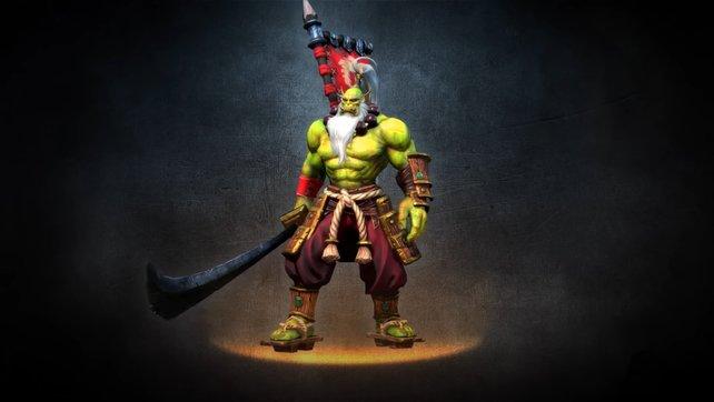 Der Klingenmeister ist der wohl bekannteste Held der Orcs und ist dazu noch der vielleicht beste Nahkämpfer im Spiel.