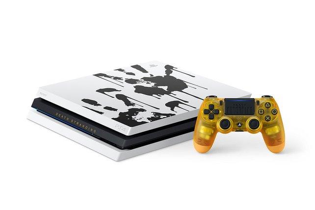 """Das """"PS4 Pro""""-Bundle von Death Stranding ist ab dem 8. November erhältlich."""