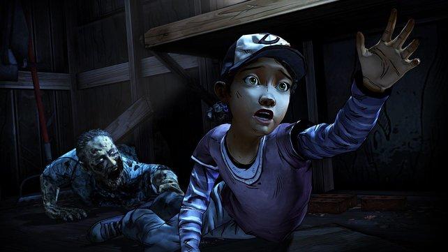 Die kleine Clementine kämpft inzwischen in zwei Staffeln ums Überleben.