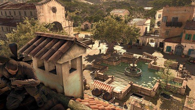 Für die Trophäen und Erfolge durchstreift ihr wunderschöne Landschaften in Italien.