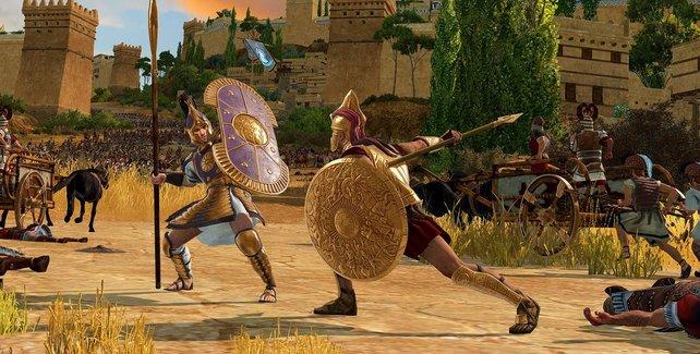 Total War Saga: Troy lässt euch im Trojanischen Krieg kämpfen.