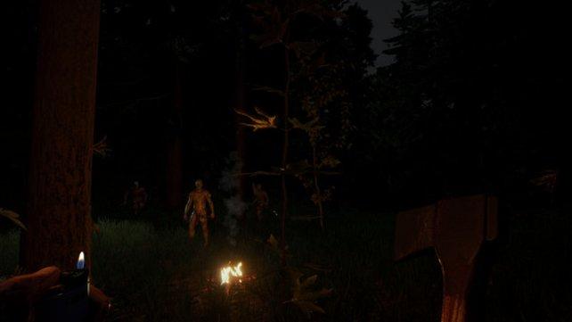 In The Forest geht es ums Überleben – Cheats sind da sehr willkommen.