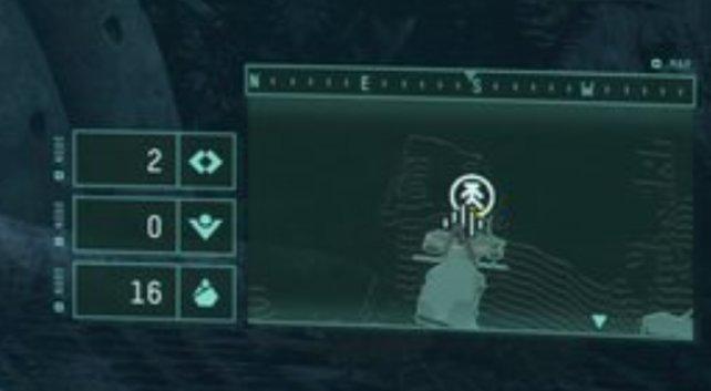 So sieht das Rekonstruktor-Symbol auf der Minikarte aus.