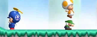 Vorschauen: New Super Mario Bros. Wii: Endlich wieder Mario in 2D