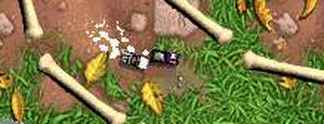 Test GBA Micro Machines Explosion
