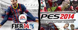 Specials: Fifa 14 oder PES 2014 - Wer gewinnt die Vorausscheidung?
