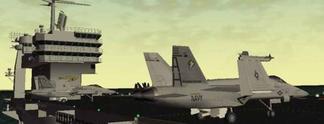 Test PC F/A-18E Super Hornet