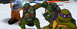 Test PS2 Teenage Mutant Ninja Turtles 2 - Battle Nexus