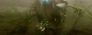 Vorschauen: Monster Hunter 3: Unterwasser-Kämpfe auf der Wii