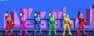 Test GBA Power Rangers Time Force