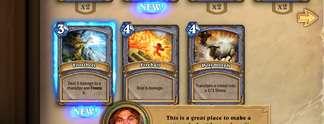 Vorschauen: Hearthstone - Heroes of Warcraft: Kartenspiel mit WoW-Flair