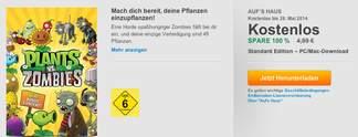 EA verschenkt Pflanzen gegen Zombies - hier alle Infos