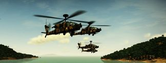 Test 360 Apache Air Assault: Eine Hubschrauber-Simulation für Konsole