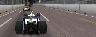 Test PSP F1 2009: Verschenkte Pole Position