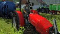 <span></span> Wer ist eigentlich? #25 - Der rote Traktor Same Argon 3 75 aus dem LWS 2013