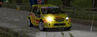 Test PS2 WRC Rally Evolved