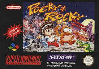 Pocky & Rocky
