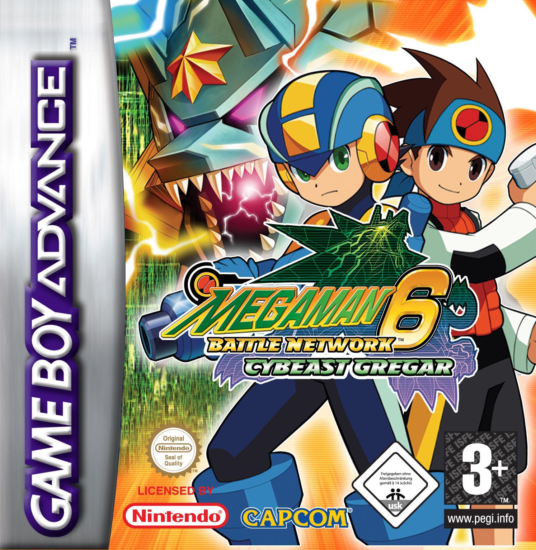 Mega Man - Battle Network 6 Grega