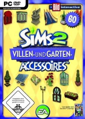 Die Sims 2 - Villen- und Garten-Accessoires