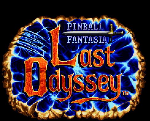 Last Odyssey - Pinball Fantasia