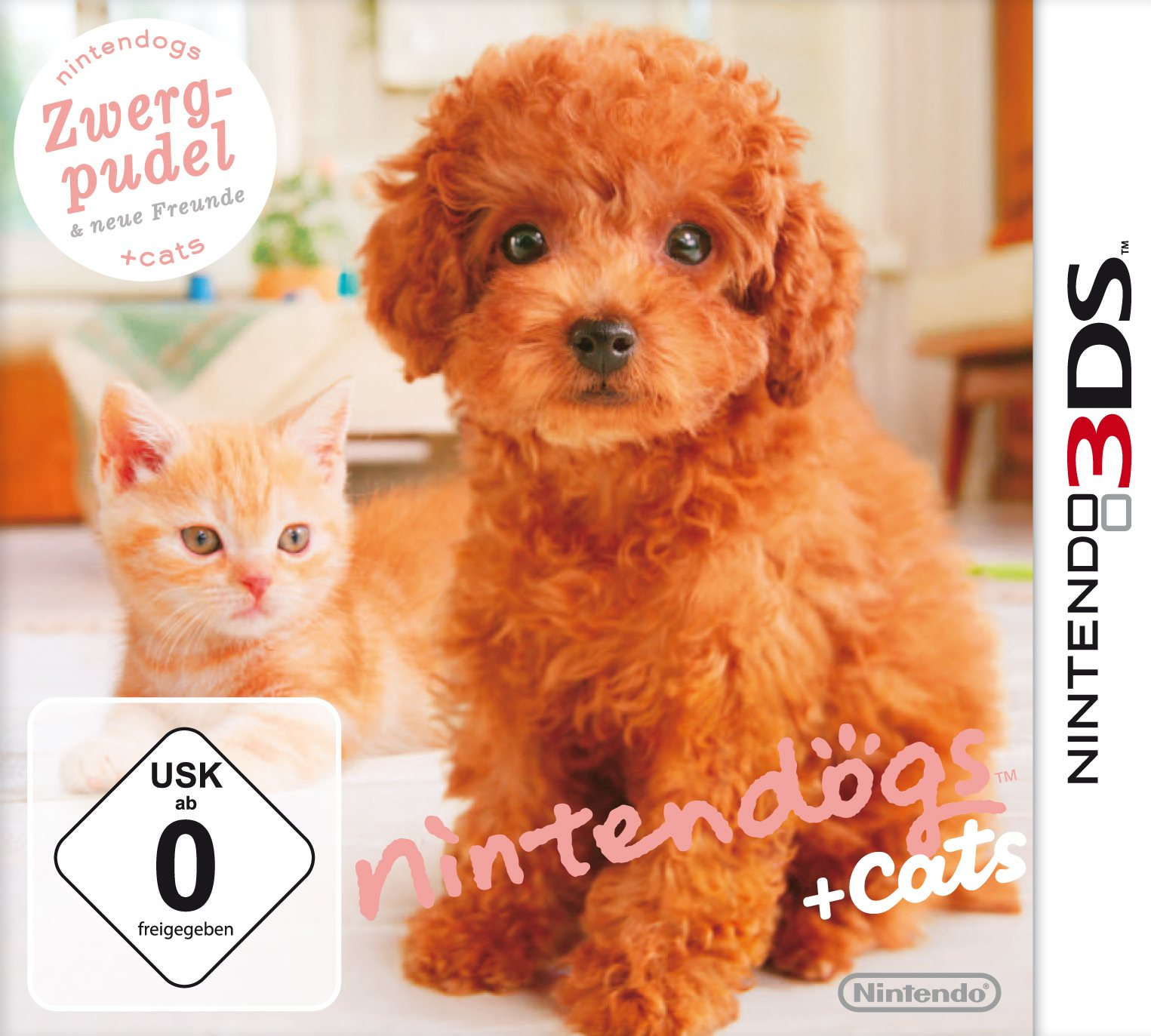 Nintendogs + Cats - Zwerg-Pudel