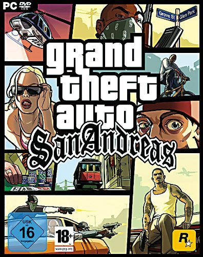 Gta San Andreas Karte.Grand Theft Auto San Andreas Pc Ps4 Ps3 Xbox 360 Iphone