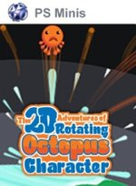 2D Adventures of Rotating Octopus Character