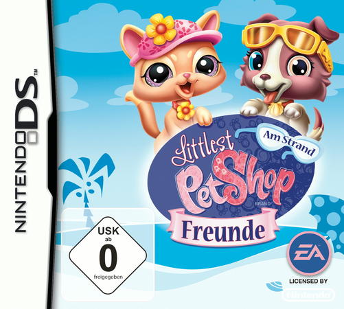 Littlest Pet Shop Freunde - Am Strand