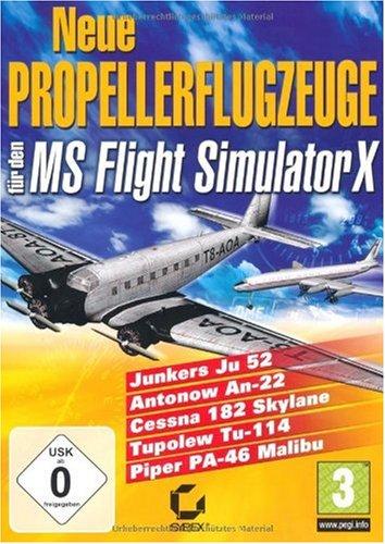 Neue Propellerflugzeuge für den FSX