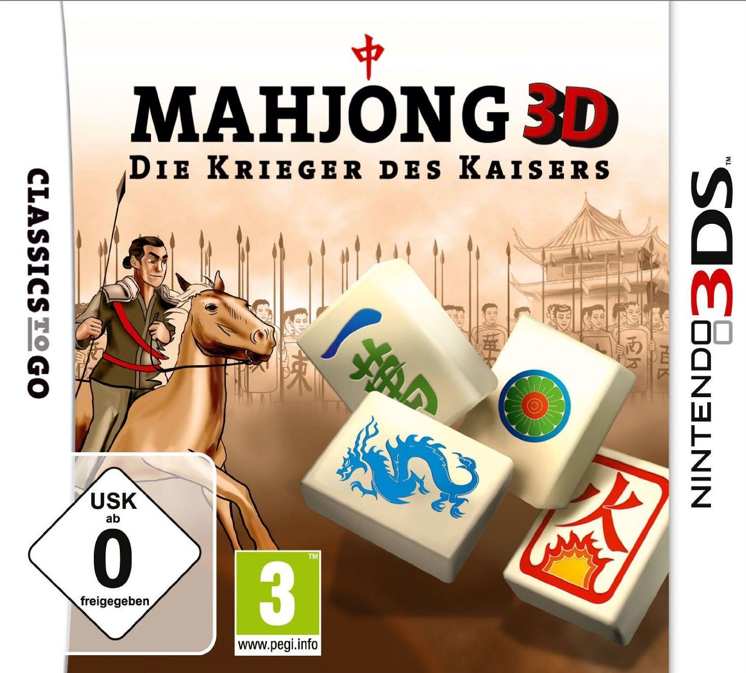 Mahjong 3D - Die Krieger des Kaisers