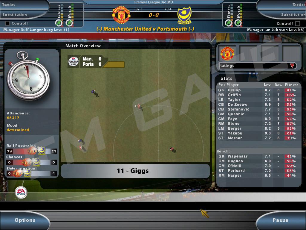 Fussball Manager 2005 Bilder Spieletipps