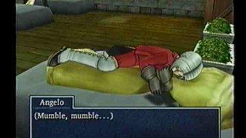<span></span> Angelo kuschelt mit seiner Decke. (vielleicht denkt er Jessica liegt neben ihm)