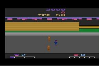 Retro Video Game Double Dragon Atari 2600