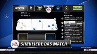 NHL 13 GM Connected - Online Spielmodus ; Erläuerungen Menü
