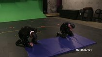 Undead Labs mocap./ Making-off zombie-green-screening