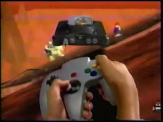 Alte Fernsehwerbung zu Super Mario 64 (englisch)
